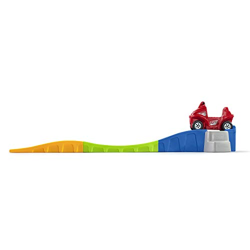 Step2 Anniversary Edition Up & Down Indoor Outdoor Roller Coaster Toy w/ Car