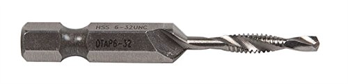 GREENLEE DTAP6-32 Combination Drill and Tap Bit, 6-32NC - 3 Pack