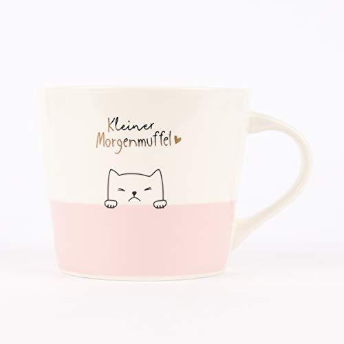 Grafik Werkstatt Kaffee-Tasse mit Echtgold | Porzellan Tasse | 420 ml | Morgenmuffel
