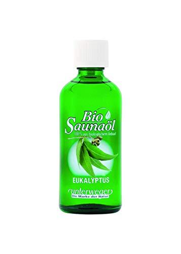 Unterweger BIO Saunaöl Eukalyptus 100 ml mit reinen ätherischen Ölen(AT-BIO-301)