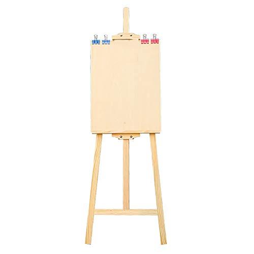 Staffeleien Zeichenbrett Skizzieren Skizze 4k Erwachsene Gerüstbau Massivholz Ölgemälde Skizzieren Kinder Kunst Malerei 1.45-1.7 M (größe : Style2)