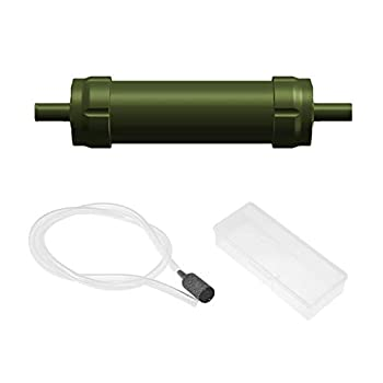Triple Filtration Purificateur d'eau portable-Système de filtration d'Eau Élimine 99,9 des BacTries Filtre à 0,01 Microns Eau Eau Potable Pour Randonnée Voyage Sac à dos Camping Survie