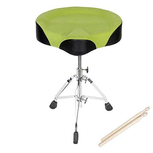OSALADI vrijetijdsstoel drum trom drum kruk drum kruk kind volwassenen universele drum kruk kan de instelling verhogen Bold Raise Nb (kleur: oranje maat: 43-60cm)