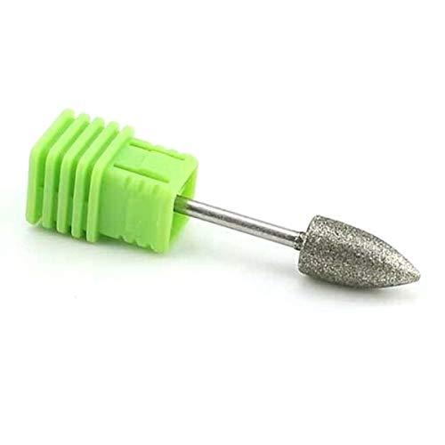 Natury Nails Fresa de Diamante para Torno de uñas. Broca para Pedicuras Callosidades y Asperezas. (Grano Grueso)