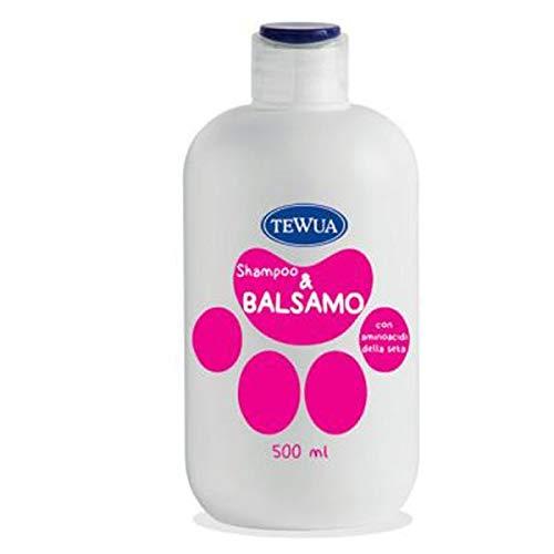 Tewua Shampoo Balsamo Cani 500Ml