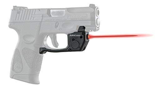 ArmaLaser Designed to fit Taurus PT111 PT140 Millenium G2 G2C G2S G3 G3C TR23 Red Laser Sight with Grip Activation