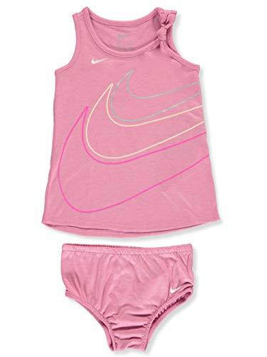 Nike Baby Girls' 2-Piece Dress Set - Flamingo, 18 Months