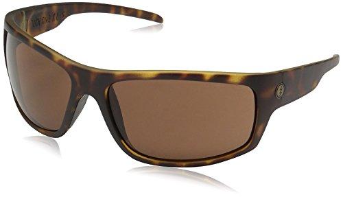 Electric mens Electric Visual Tech One Xls Matte Tortoise/Ohm Bronze Sunglasses Sunglasses, Matte Tortoise, 139 mm US
