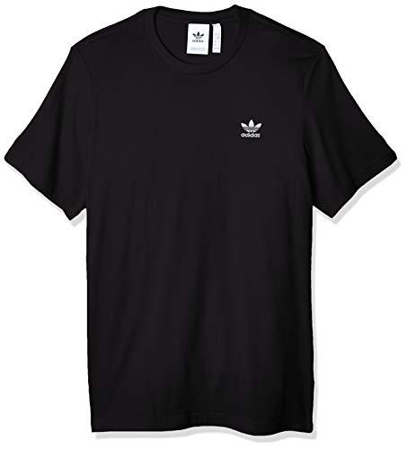adidas Mens Essential T-Shirt, Black, L
