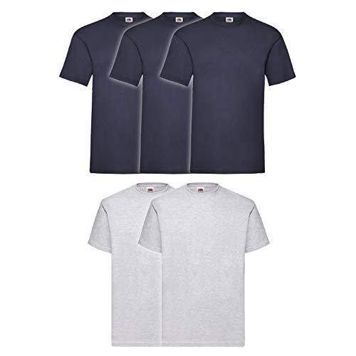Coats&Coats - Sweat-shirt - Homme 3 Pezzi Blu Navy 2 Grigio