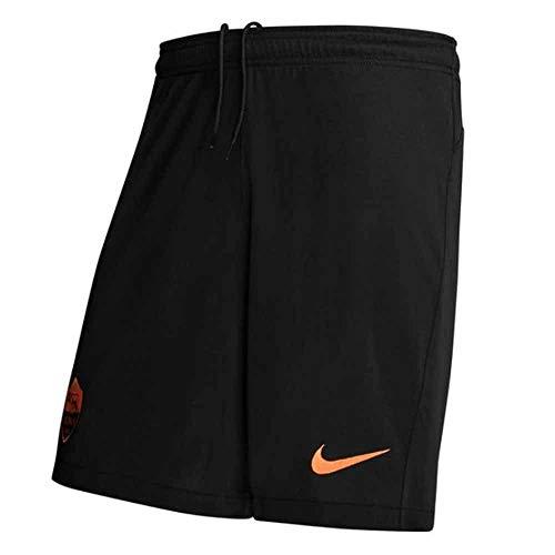 Nike Herren Sport Shorts Roma M Nk BRT Stad Short 3R, Black/(Safety Orange) (No Sponsor), XL, CK7829