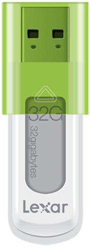 Lexar JumpDrive S50 - Memoria USB 2.0 de 32 GB, Verde