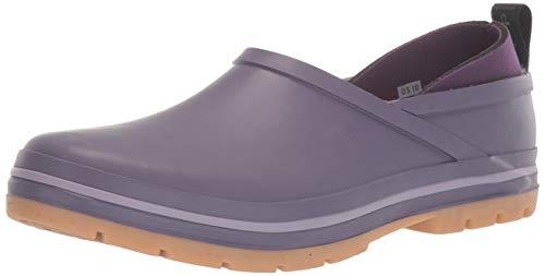 Chooka Women's Madrona Neoprene Waterproof Step-in Shoe with Memory Foam Insole Rain, Solid Mulberry, 6