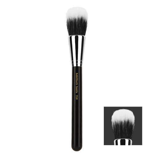 Bdellium Tools Professional Antibacterial Makeup Brush Maestro Series - Duet Fiber Powder Blending 9