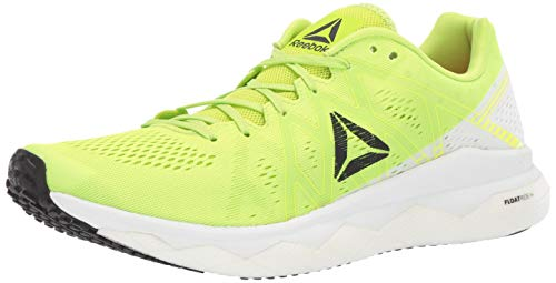 Reebok Men's Floatride Run Fast Shoe, neon Lime/White/Black/red, 10 M US