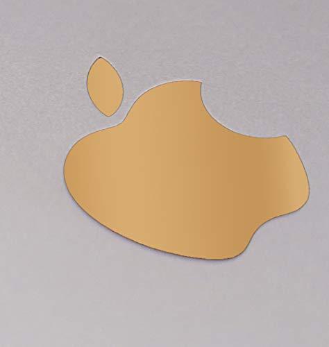 Amazon Com Apple Logo Sticker Iphone Ipad Decal In Vinyl X2 35x29mm Gold Beauty