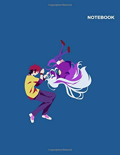 No Game No Life Izuna notebook: Lined Pages, 110 Pages, Letter (8.5 x 11 inches), Cute Shiro & Sora No Game No Life Notebook Cover.