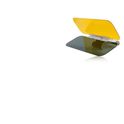 ADFIOADFH Coche Anti-Glare Sun Visor Extension HD Día Noche Visión Noche Conducción Espejo Visores Sol (Color : Brown)