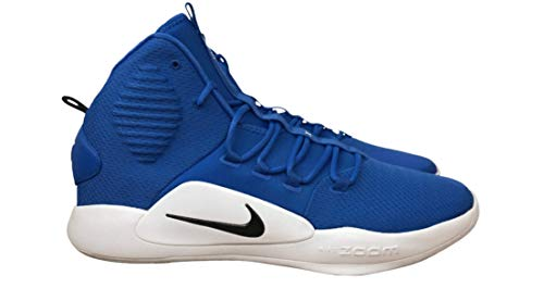 Nike Hyperdunk X Mid AT3866-404 Men's Blue-White Basketball Sneakers 15 US
