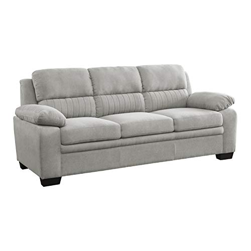 Lexicon Vega Living Room Sofa, Light Gray