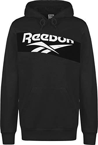 Reebok Classics Herren Classic V P OTH Sweatshirt, Schwarz/Weiß, XL