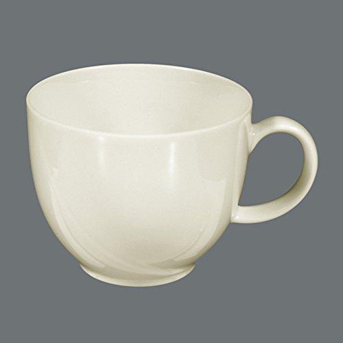 Seltmann Weiden 001.050511 Orlando - Kaffeeobertasse/Kaffeetasse - 0,21 l - Porzellan - Cream/Elfenbein