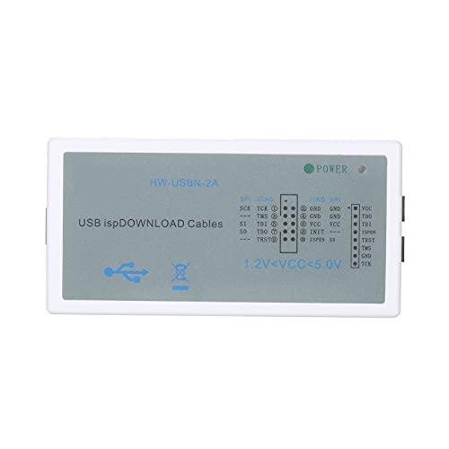Funien USB ispDownload Cable USB ISP Programmer JTAG SPI Flash USB Programmierkabel Development Kit mit 8-Pin/10-Pin Adaptern für die Programmierung von LATTICE FPGA CPLD Entwicklungsboards Unterstütz