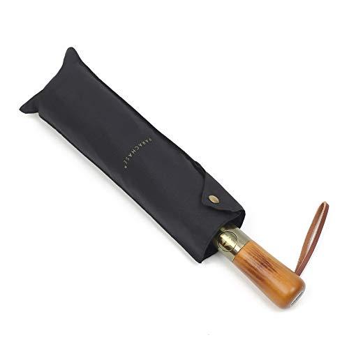 PARACHASE 折りたたみ傘 ワンタッチ 自動開閉 二重層 風に強い 弧長 130cm 10本骨 おりたたみ傘 メンズ 大...