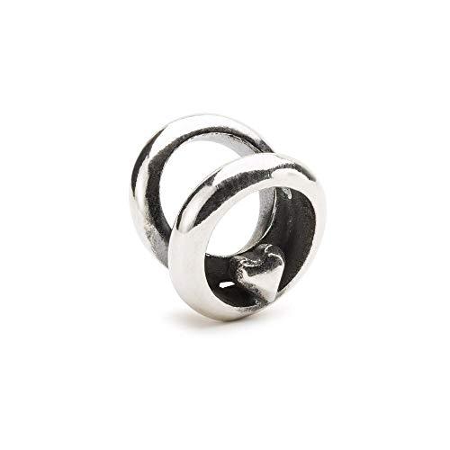 Trollbeads Silber Bead Ringe der Liebe