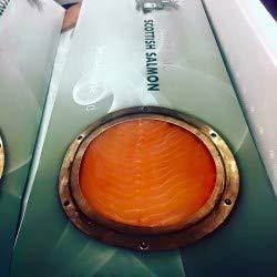 Port of Lancaster Smoked Scottish Salmon Side- Sliced (min 800g- 1kg)