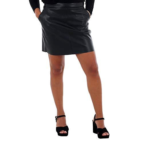 VERO MODA Damen Rock schwarz M (38)