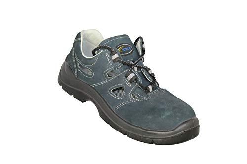 Lupos SL-7 S1P Bauschuhe Sicherheitsschuhe Sandale Blau B-Ware, Größe:46 EU