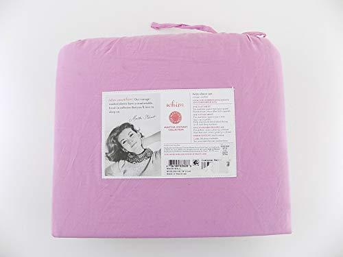 top rated Martha Stewart Vintage Wash Twin 200 TC 100% 2 Sheets Set 2020