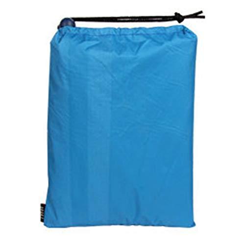 KOET Capa impermeable impermeable para lluvia, poncho de lluvia para acampar al aire libre, ciclismo, viajes, tienda de campaña, poncho de una pieza para uso en refugio