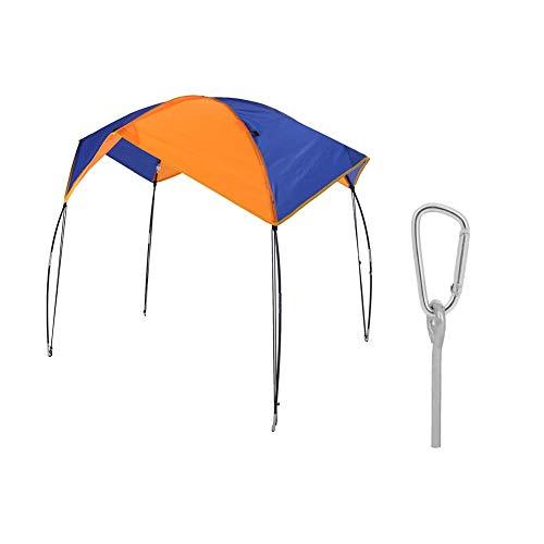 Aufblasbare Kajak-Markise Vordach - Shelter Regen Cover Kit Boot Sun Shelter Sailboat Markise Abdeckung Angelzelt Sonnenschutz for Wasser Bootfahren Aktivität (Größe : 2 Persons)