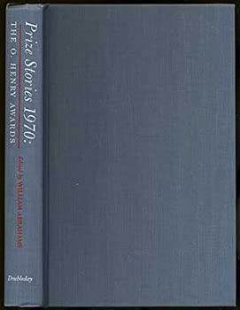 Hardcover Prize Stories 1970: The O. Henry Awards Book
