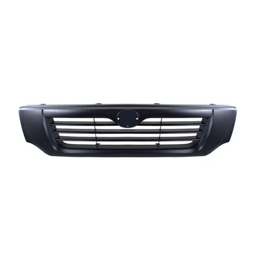 CarPartsDepot, Front Black Grille Grill Assembly Replacement Parts Pickup 2/4-Dr, 400-31361 1F0050710 MA1200153