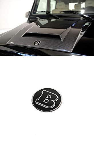 G Wagon Brabus Style Hood Emblem Logo for Mercedes-Benz W463 G-Class