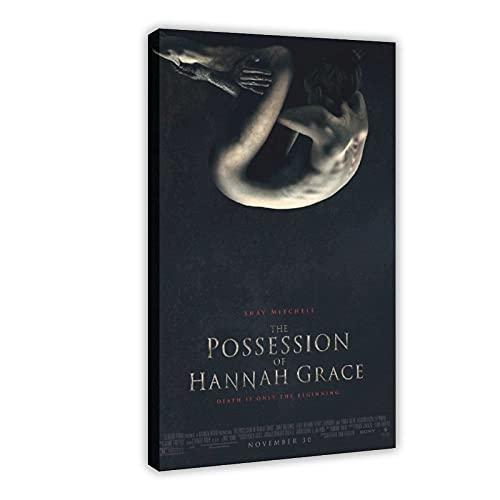 Hannah Grace's Possession Horror-Filmposter, Leinwandposter, Schlafzimmer, Dekoration, Sport, Landschaft, Büro, Raumdekoration, Geschenkrahmen: 20 x 30 cm