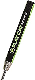 Flat Cat Golf Solution Standard Putter Grip, Black/Green