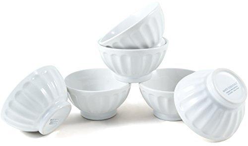 Home Essentials White Mini Serving Bowl, Set of 6, White