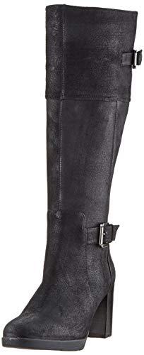 Geox Damen D ANEEKA C Hohe Stiefel, Schwarz (Black C9999), 38 EU