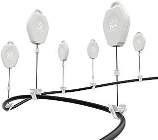 AMVR VR kabelbeheer, 6 verpakkingen intrekbaar plafondriemschijfsysteem voor Oculus Quest / Quest 2 / Rift / Rift S / Valv...