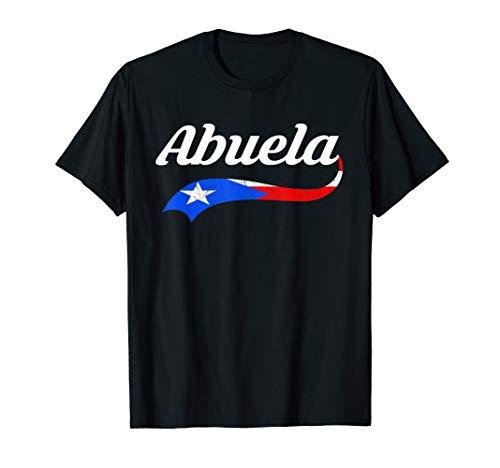 Puerto Rico Abuela Shirt | Puerto Rico Flag Abuela Tshirt