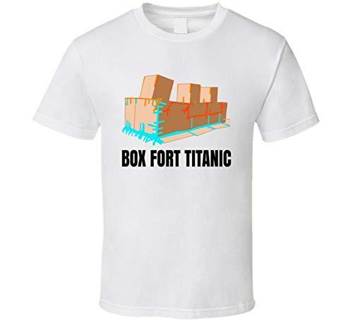 Papa Jake Box Fort Titanic Popular Youtube Personality Fan T Shirt