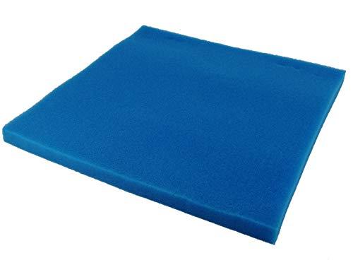 AQUARISTIK-PARADIES Filterschaum Filtermatte - Blau 50 x 50 x 3 cm...