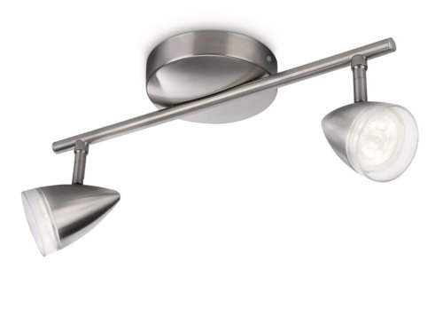 Philips MAPLE spot LED luminaire d'intérieur Métallique Métal