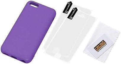 レイ・アウト iPhone5c スリップガード・シリコンケース グレープ RT-P6C2/V