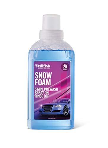 Nilfisk Snowfoam Líquido de Prelavado para Coche, detergente espumoso para Uso con hidrolimpiadora (500 ml)