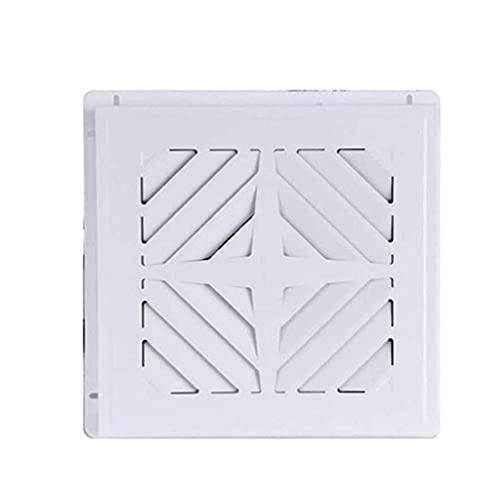 YGB Ventilador Nuevo, Ventilador de ventilación, Flujo de Aire silencioso, Duradero, Fácil de Instalar, Cumple con el código, Blanco